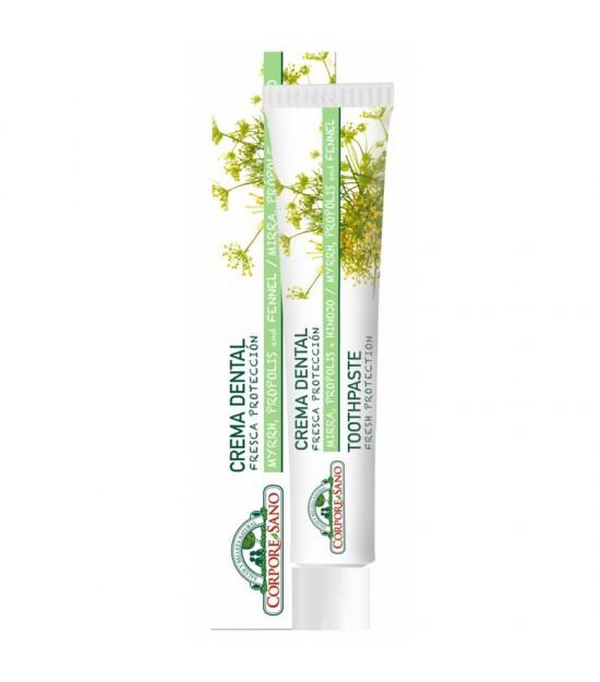 Dentifrico mirra propolis hinojo CORPORE SANO 75 ml