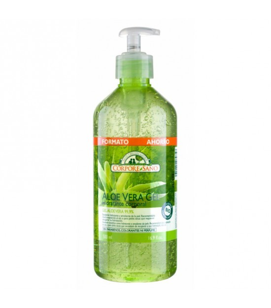 Gel aloe vera familiar 99.9% CORPORE SANO 500 ml BIO