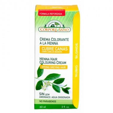 Crema colorante rubio CORPORE SANO 60 ml
