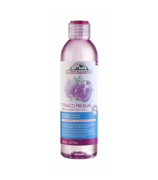 Tonico micelar pieles mixtas CORPORE SANO 200 ml