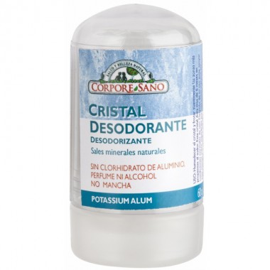 Desodorante mineral potasio CORPORE SANO 60 gr