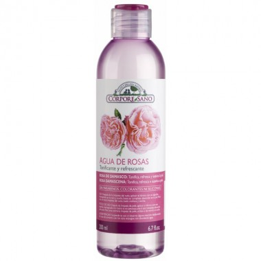 Agua rosas damascena CORPORE SANO 200 ml