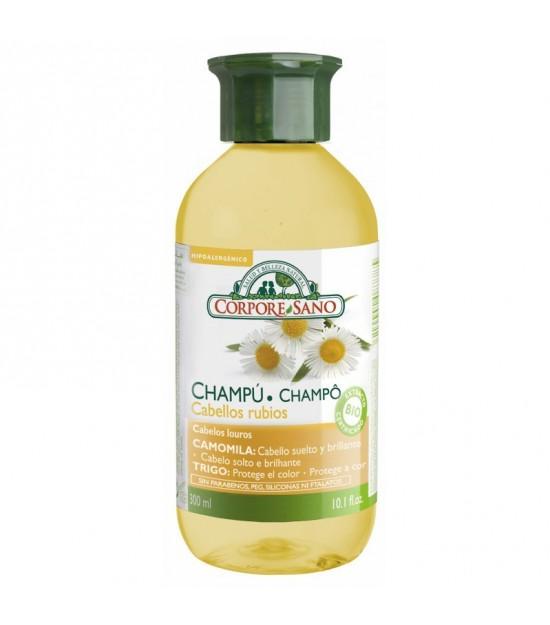 Champu camomila trigo CORPORE SANO 300 ml BIO