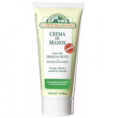 Crema manos olivo karite CORPORE SANO 100 ml