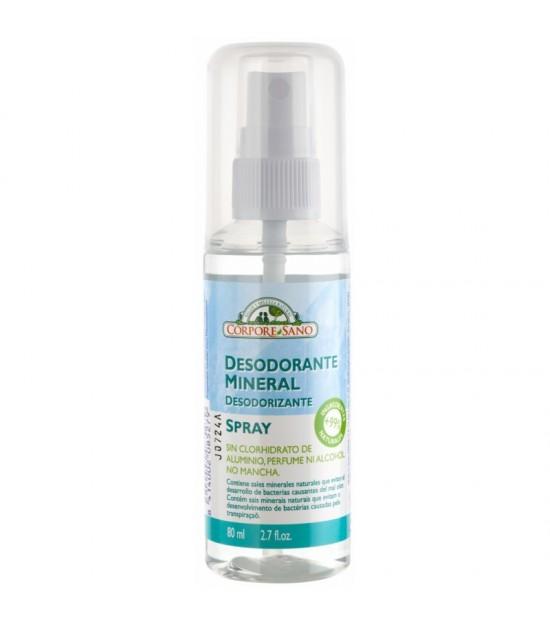 Desodorante mineral spray CORPORE SANO 80 ml