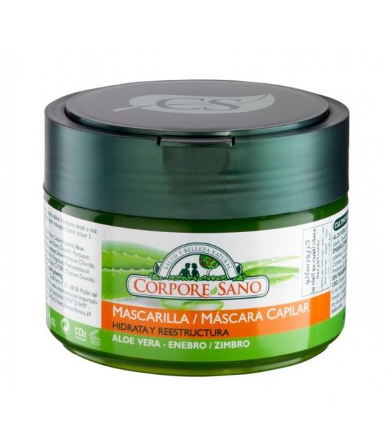 Mascarilla capilar aloe enebro CORPORE SANO 250 ml
