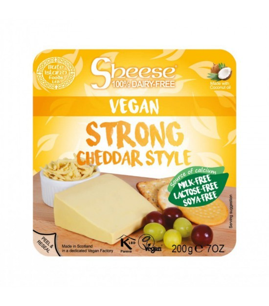 Queso cheddar curado CHEESE 200 gr