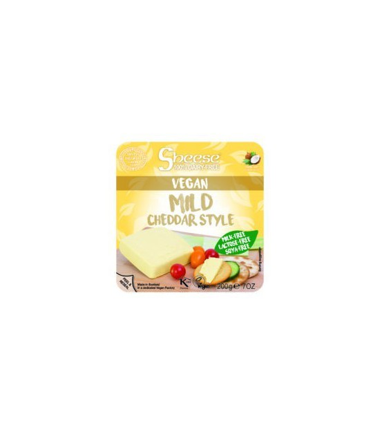 Queso cheddar mild CHEESE 220 gr (semi)