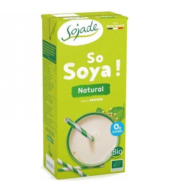 Bebida soja natural SOJADE 1 L BIO