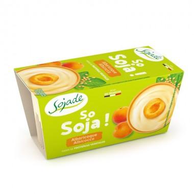 Yogur soja albaricoque SOJADE 2x100 gr BIO