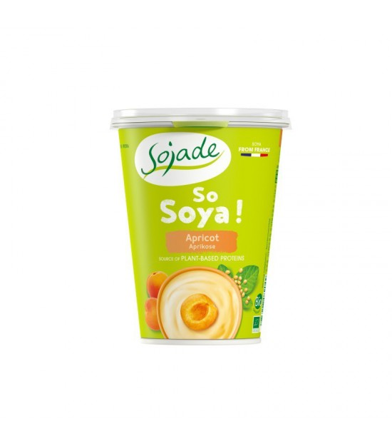 Yogur soja albaricoque SOJADE 400 gr BIO