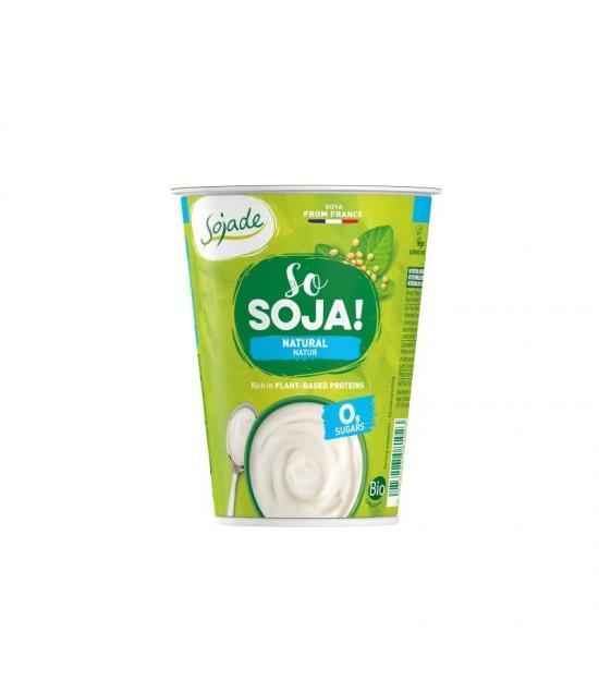 Yogur soja natural bifidus SOJADE 400 gr BIO