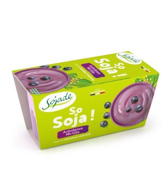Yogur soja arandano SOJADE 2x100 gr BIO
