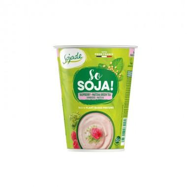 Yogur soja frambuesa pasion SOJADE 400 gr BIO