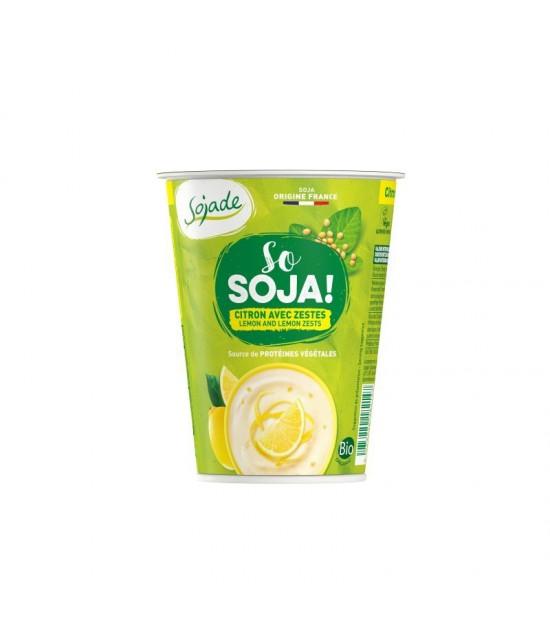Yogur soja limon SOJADE 400 gr BIO