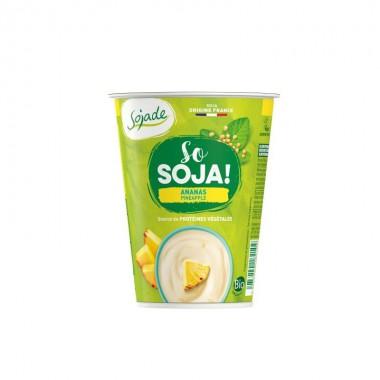 Yogur soja piña SOJADE 400 gr BIO