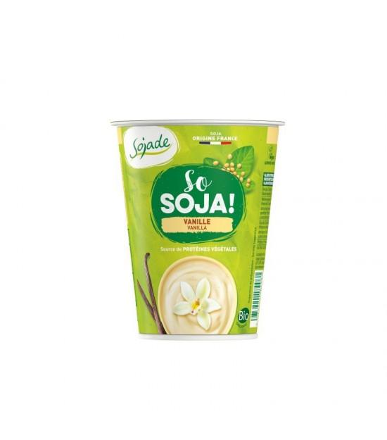 Yogur soja vainilla SOJADE 400 gr BIO