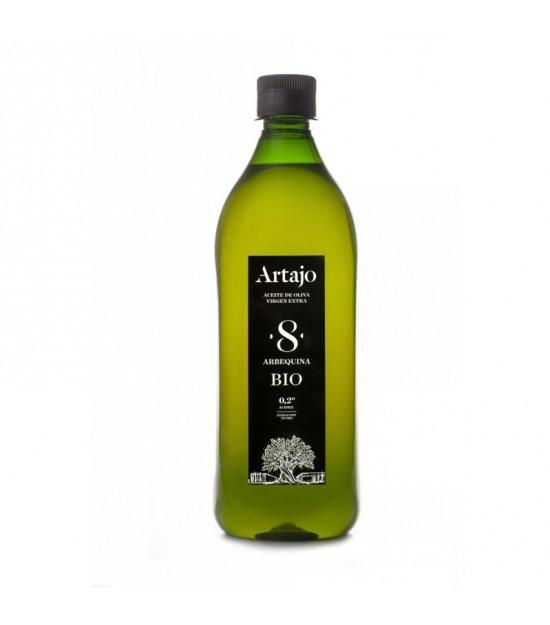 Aceite oliva virgen extra frutado 8 ARTAJO PET 1 L BIO