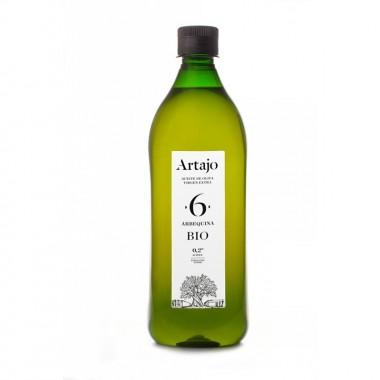 Aceite oliva virgen extra albador maduro 6 ARTAJO PET 1 L BIO