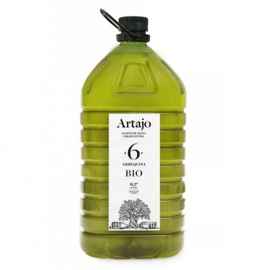 Aceite oliva virgen extra albador maduro 6 ARTAJO PET 5 L BIO