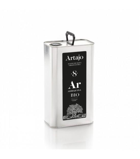 Aceite oliva virgen extra frutado 8 ARTAJO PET 5 L BIO