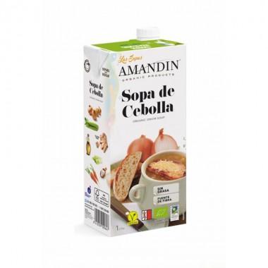 Sopa cebolla AMANDIN 1 L BIO
