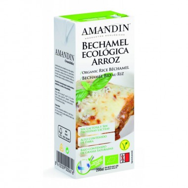 Bechamel arroz AMANDIN 200 ml BIO