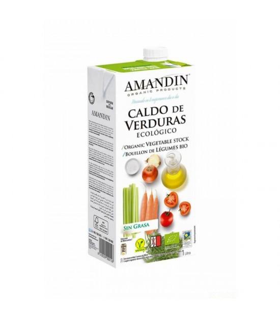 Caldo verduras AMANDIN 1 L BIO