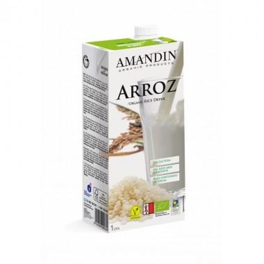 Bebida arroz AMANDIN 1 L BIO