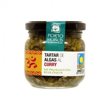 Tartar algas curry PORTO MUIÑOS BIO
