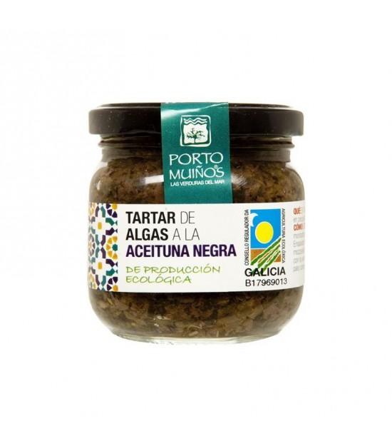 Tartar algas aceituna negra PORTO MUIÑOS BIO