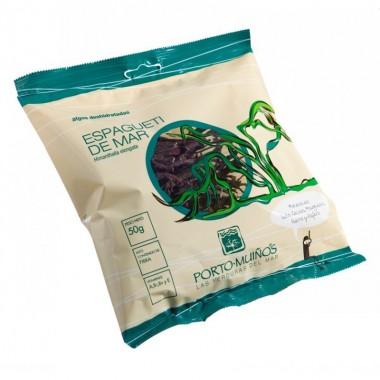 Espagueti mar deshidratado PORTO MUIÑOS 50 gr