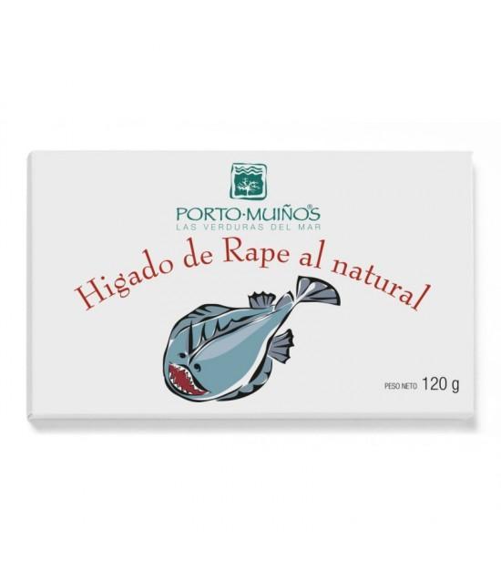 Higado rape PORTO MUIÑOS 120 gr