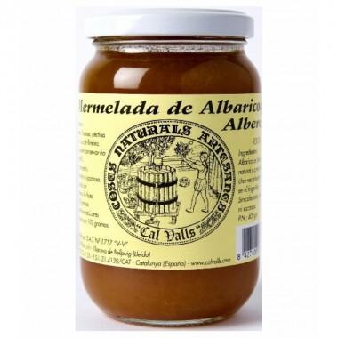 Mermelada albaricoque artesana CAL VALLS 400 gr