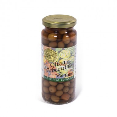 Aceituna arbequina CAL VALLS 200 gr ECO