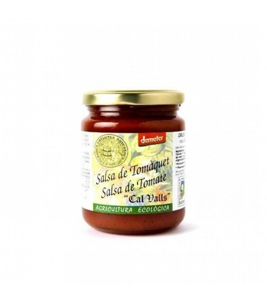 Salsa tomate CAL VALLS 270 gr ECO