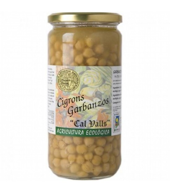 Garbanzos cocidos CAL VALLS 450 gr ECO