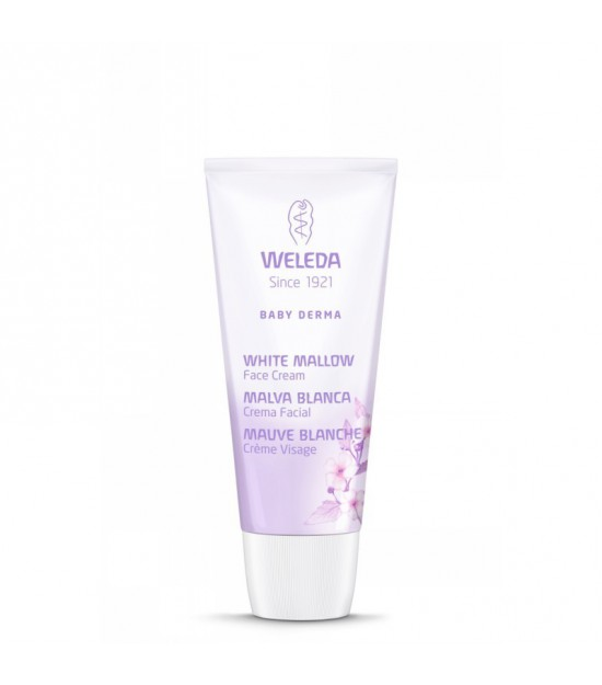 Crema facial malva blanca WELEDA 50 ml