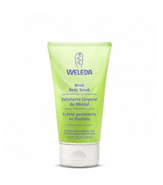 Exfoliante corporal abedul WELEDA 150 ml