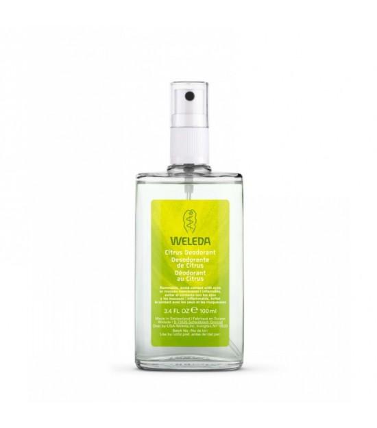 Desodorante citrus WELEDA 100 ml