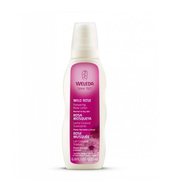 Leche corporal suavizante rosa mosqueta WELEDA 200 ml