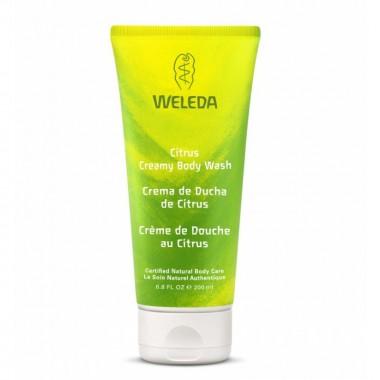 Crema ducha citrus WELEDA 200 ml