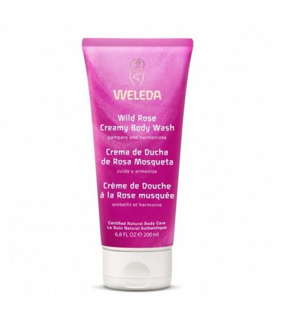 Crema ducha rosa mosqueta WELEDA 200 ml