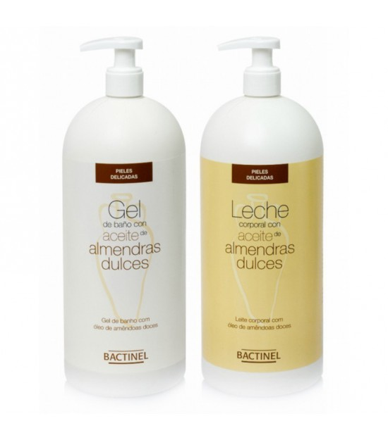BACTINEL almendras leche 750 ml + Gel 750 ml