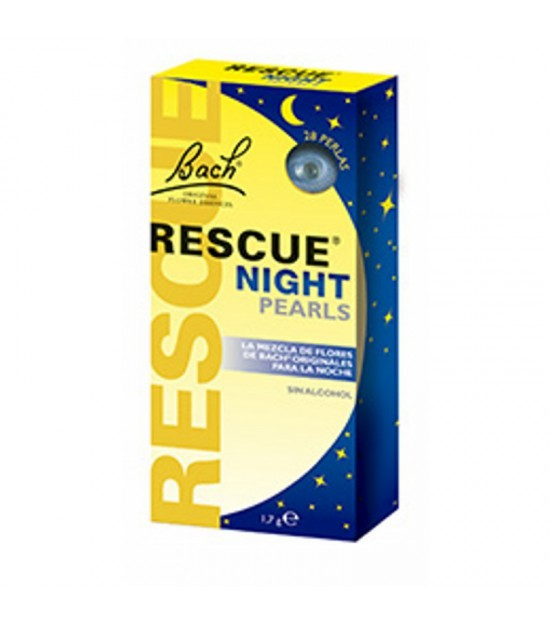 Rescue night perlas FLORES DE BACH 28 perlas