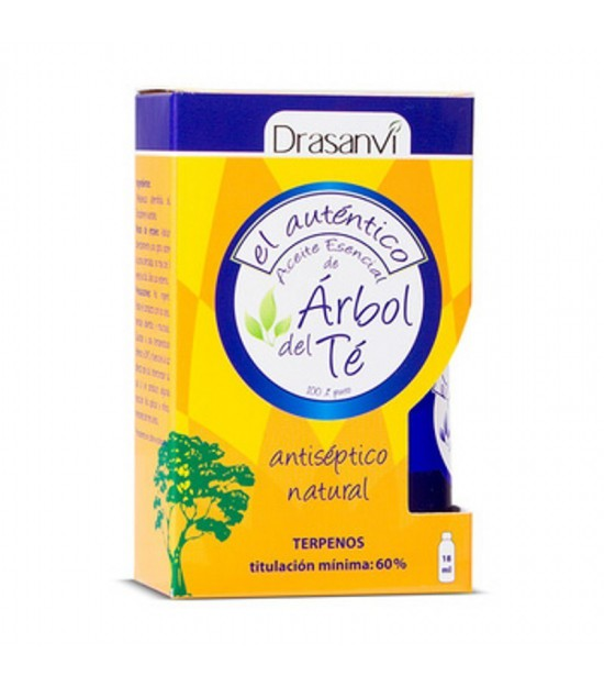 Aceite arbol del te 100% DRASANVI 18 ml