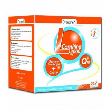 L-carnitina 2000 mg DRASANVI 20 viales