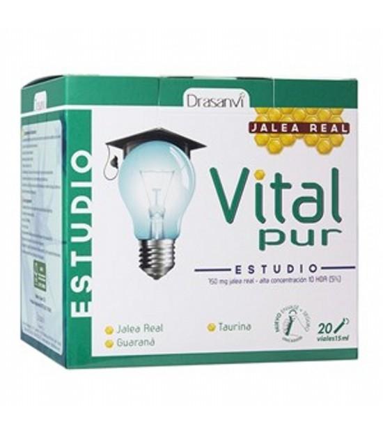 Vitalpur estudio DRASANVI 20 viales