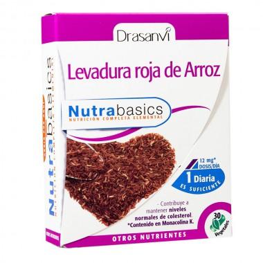 Levadura roja arroz DRASANVI 30 capsulas