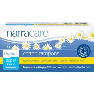 Tampones super con aplicador (16 ud) NATRACARE